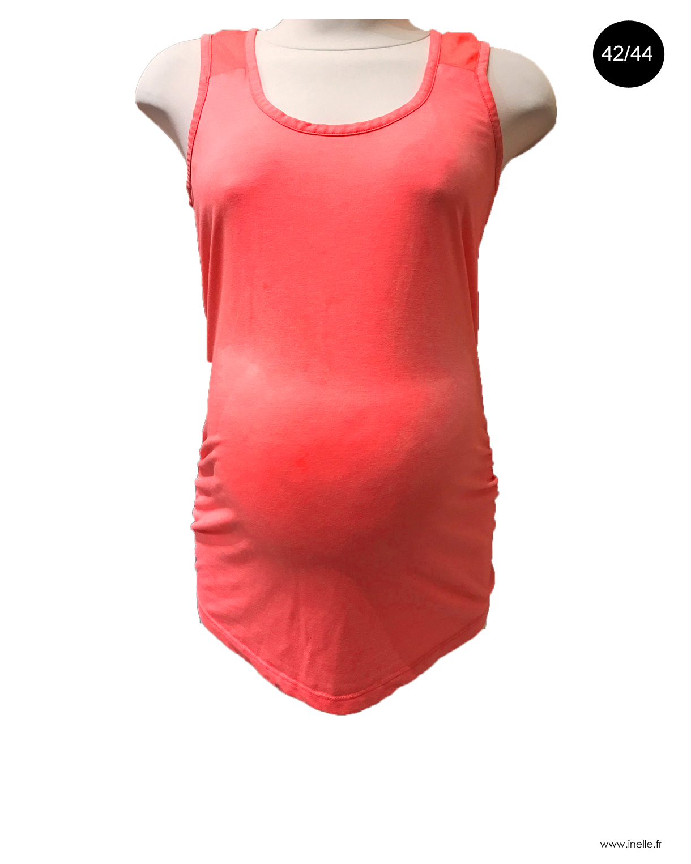 haut fluo pour femme enceinte 42 44 hauts grossesse. Black Bedroom Furniture Sets. Home Design Ideas