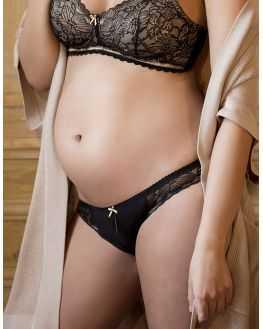 Culotte femme enceinte IRIS Noire