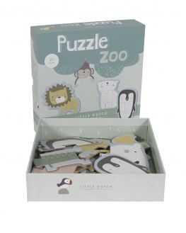Puzzle Zoo coffret 6 animaux