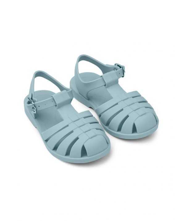 Sandales de plage bleu mer Bre