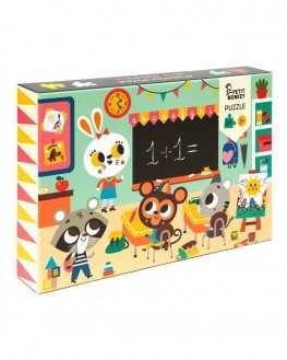 Jeu blocs puzzle 9 pièces