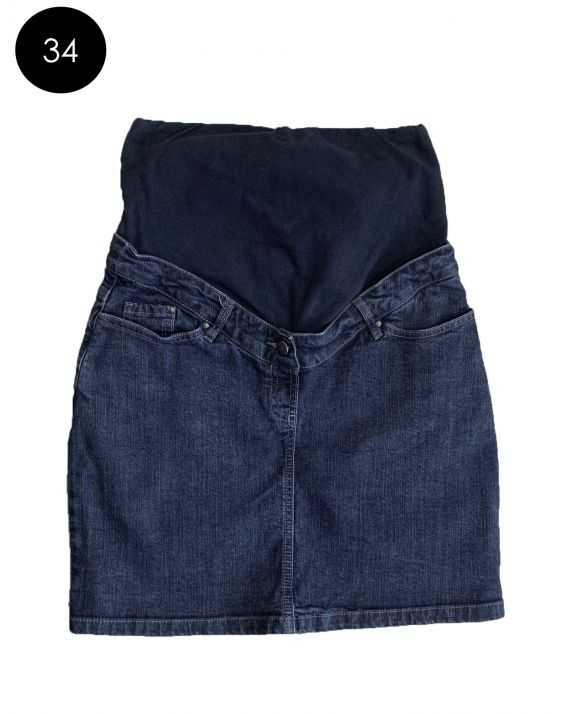 Jupe de grossesse en jean