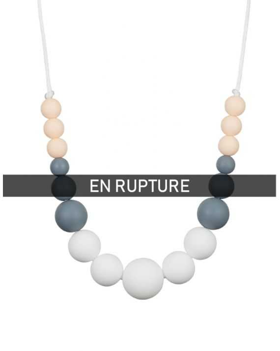 Collier dentition Uhaina Rose poudré Minty Wendy